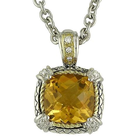 andrea candela andrea candela lemon quartz pendant necklace freedman