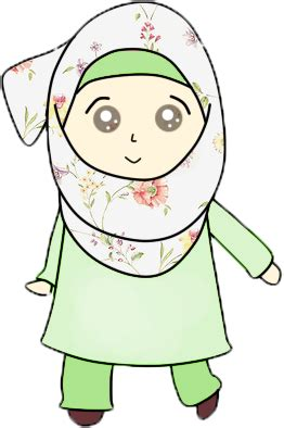 freebies doodle muslimah comel faqihah husni freebies doodles muslimah comel own made