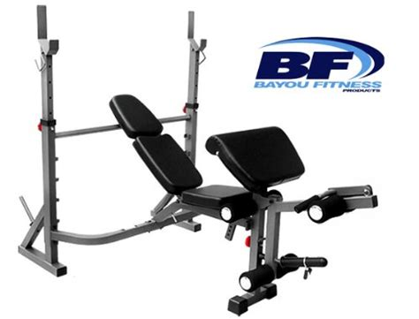 discount weight bench discount bayou fitness e series olympic weight bench with