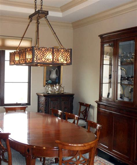 Traditional Dining Room Chandeliers Tallia Chandelier Traditional Dining Room Santa Barbara By Steven Handelman Studios