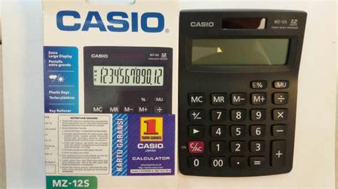 Kalkulator Casio Mz 12s 12 Digit casio mz12