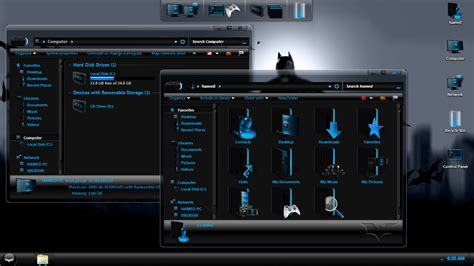 download theme windows 7 joker batman skinpack skinpack customize your digital world