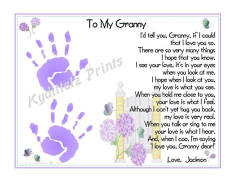 baby s s day poem baby s 1st handprints poem gift personalized