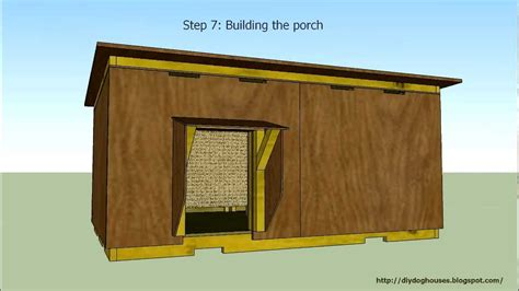 insulated dog houses for winter detailed instruction insulated dog house 2 youtube