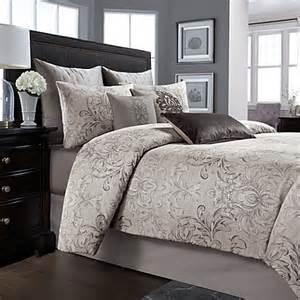 wamsutta 174 cambridge comforter set in charcoal bed bath
