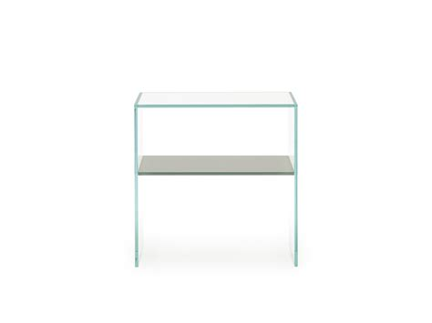comodini in vetro comodino in vetro trasparente multiglass homeplaneur