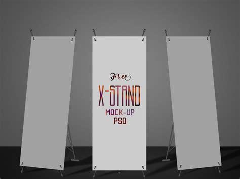 mockup design banner x stand banner mockup mockupworld