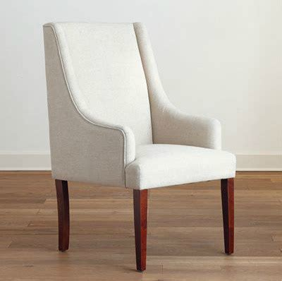 linen hayden dining chair modern dining chairs by