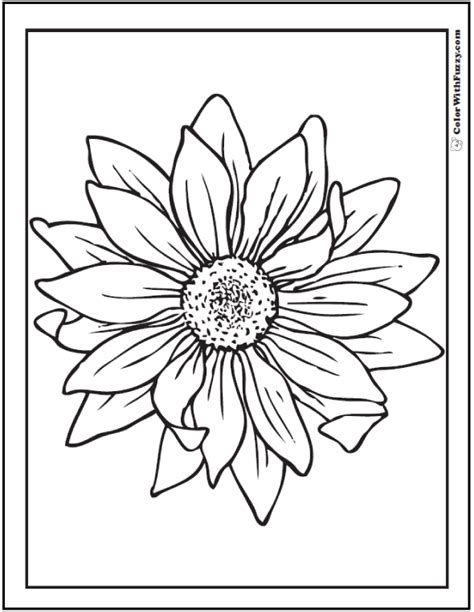 Sunflower Coloring Pages With Name Coloring Pages Sunflowers Coloring Pages