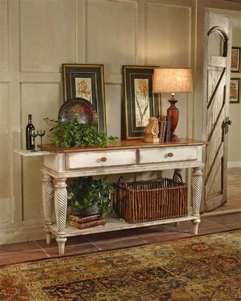 hillsdale wilshire sideboard table antique white 4508