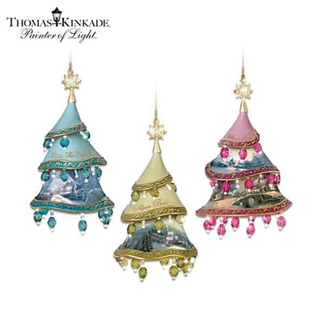 thomas kinkade christmas classics ornament collection