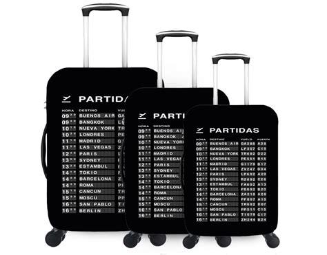fundas valijas pack summer funda para valija x 3 fundas para valijas