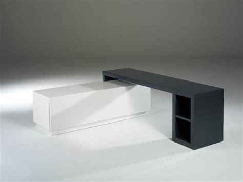 meuble tv modulable axe laqu 233 blanc et gris anthracite