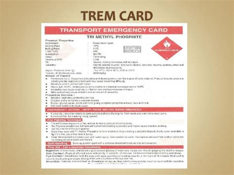 trem card template ppt statutory regulations related to hazardous chemical