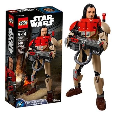 Lego Starwars Buildable Figures 75525 Baze Malbus lego wars 75525 constraction baze malbus lego