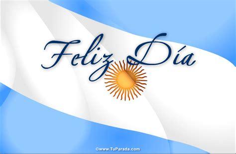 imagenes feliz dia de la bandera feliz d 237 a con bandera argentina fiestas patrias de