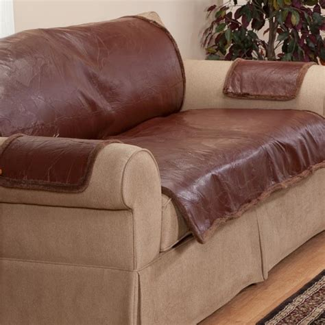 how to cover a leather sofa leather protector leather furniture cover walter