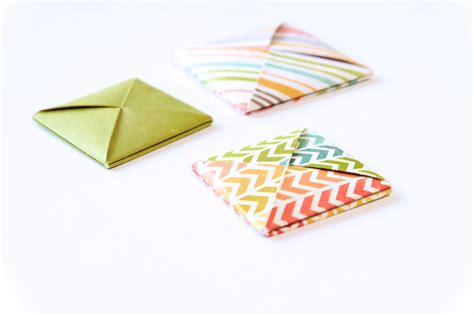 Origami With Square Paper - origami square envelope i try diy