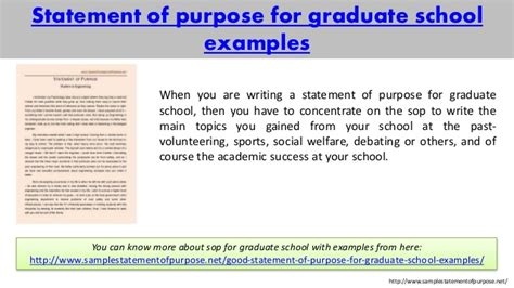Mba Then Phd by Sle Statement Of Purpose Of Any For You