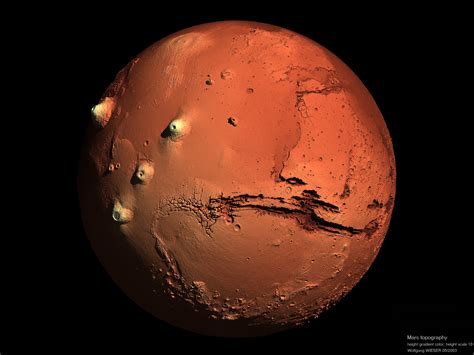 Are From Mars rendered images of mars