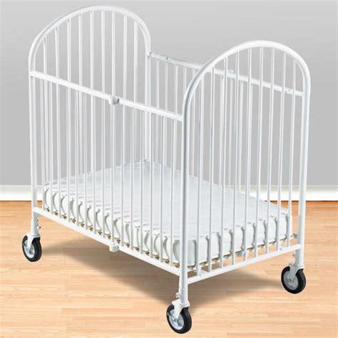 Compact Crib Mattress Foundations Compact Folding Crib W 4 Quot Foam Mattress White