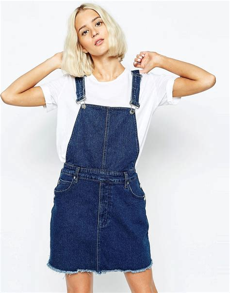Nzam St Overal Skirt cheap monday cheap monday overall dress at asos