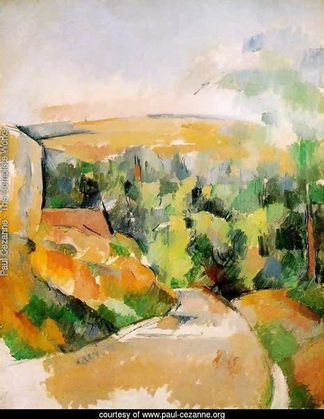 A Bend In The Road paul cezanne the complete works a bend in the road