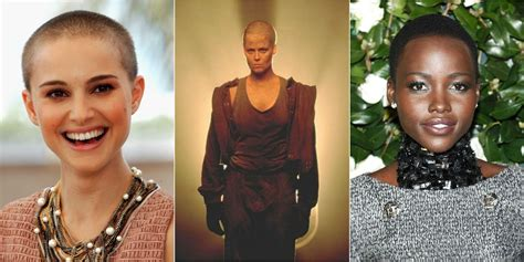 celebrity level meaning 15 famous women who shaved their heads famous bald women
