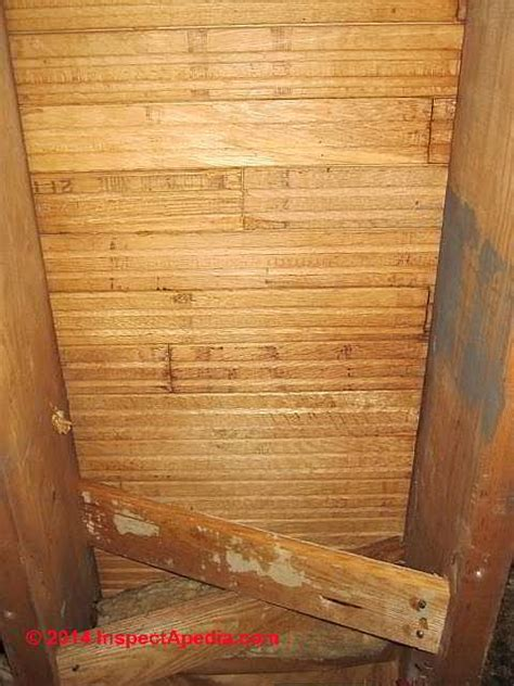 New Wood Floor Creaking by How To Fix A Squeaky Floor Caused By Gaps Between The Subfloor Ask Home Design