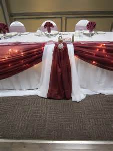 burgundy wedding decorations set the mood decor