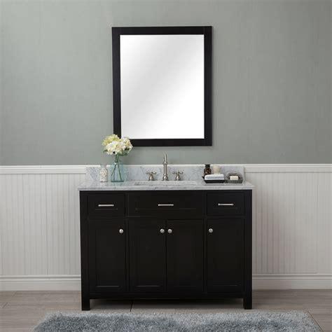 home design outlet center bathroom vanities alya bath norwalk 48 in single bathroom vanity in