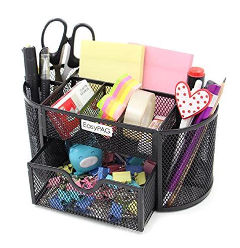 Desk Accessories And Organizers Easypag Mesh Desktop Organizer 9 Components Desk