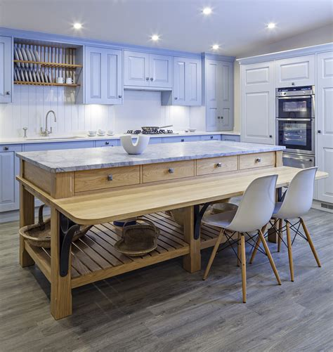 freestanding island with seating freestanding kitchen furniture kitchen sourcebook