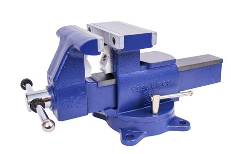 usa made bench vise yost vises 880 di 8 quot heavy duty reversible bench vise made