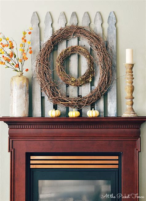mantel wall decor 11 ways to add fall to your home the turquoise home