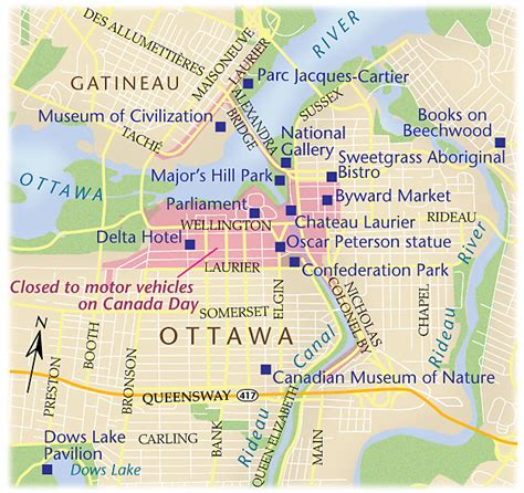 map of canada ottawa canada day in ottawa gatineau 1 canadian geographic