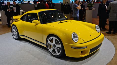 porsche ruf yellowbird 2017 ruf ctr this bird won t ride on a porsche