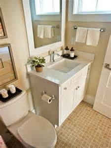 make your small bathrooms spacious