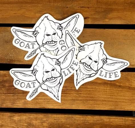 Goat Usa Stickers