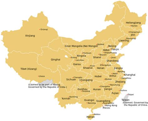 political map of china with cities china wine maps so um where is ningxia and where are