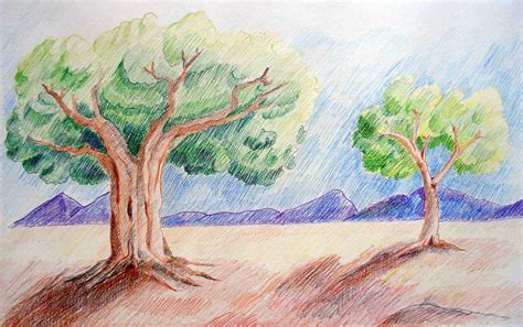 draw landscapes in colored pencil the ultimate step by step guide books color pencil drawing landscape drawing ideas