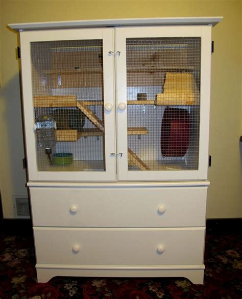 pattern old fashioned hutch diy chinchilla pet cage diy for pets pinterest a