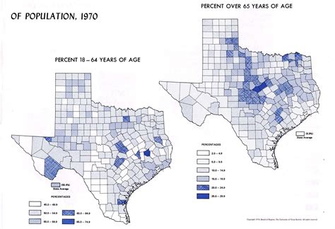 population map of texas atlas of texas perry casta 241 eda map collection ut library