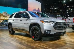 Chevrolet Traverse Refreshing Or Revolting 2018 Chevrolet Traverse Motor Trend