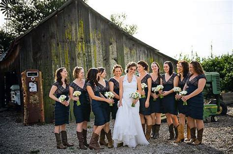 country wedding dresses with cowboy boots ideas