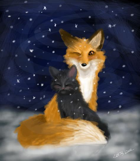is a fox a cat or fox and cat by zoradraws on deviantart