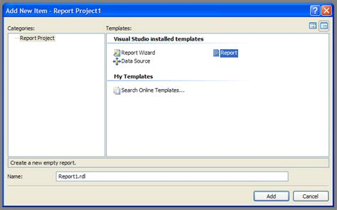 Report Template For Visual Studio 2008 How To Install Barcode Sdk For Sql Server 2008