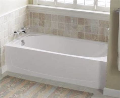 sterling bathtubs sterling vikrell left hand tub white performa