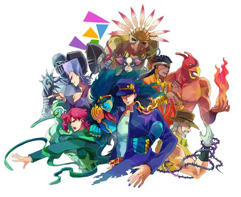 stardust crusaders images