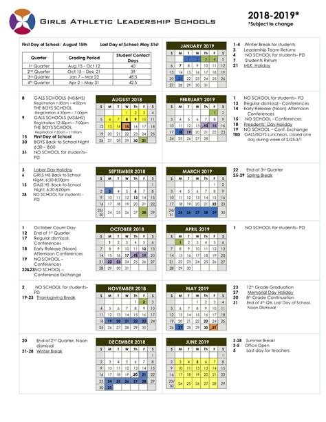 Denver Schools Calendar Calendar Gals Denver